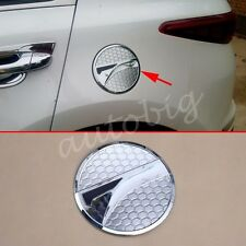 Fuel Tank Gas Cap For Kia Sportage QL 2017 Chrome Oil Box Cover Decoration