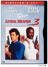 Brand New DVD Lethal Weapon 3 (Director's Cut) Mel Gibson Danny Glover