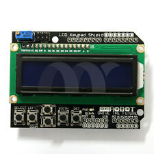 LCD 1602 Board Keypad Shield For Arduino LCD UNO Mega2560 R3 Robot