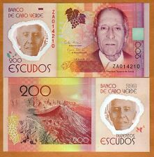Cape Verde, 200 Escudos, 2014 (2015), P-New,POLYMER,UNC   Replacement