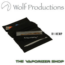 Wolf Productions Rolling Kit Tray Box Pouches Wallet R1 in Black