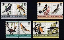 D.  Montserrat  597 - 604    Vögel - Birds  **  (mnh)