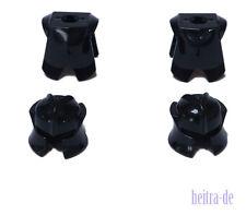 LEGO - 2 x Ritterhelm schwarz und 2 x Ritterrüstung schwarz 48493 2587 NEUWARE