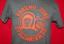 ESKIMO JOE'S Stillwater Oklahoma Bar Gray T-SHIRT S Juke Joint Pub