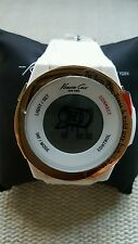 Authentic New Kenneth Cole Unisex Connect Bluetooth Smart Watch WHITE Retail$135