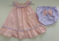 Tape à l'oeil***Ensemble Robe et bloomer /Dress 6 mois 67 cm Mauve rose
