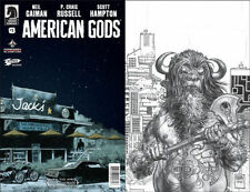 American Gods - Shadows #1 | Jetpack Exclusive Sketch Variant | Image - 2017