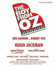 The Boy From Oz Piano/Vocal/Chords by