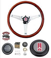 """1969-1980 Olds 442 Cutlass steering wheel MAHOGANY 14 1/2"""" Grant steering wheel"""