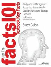 NEW Studyguide for Management Accounting: Information for Decision-Making and St