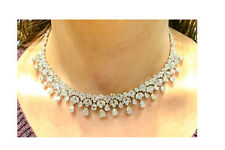 diamond pear shape marquise round brilliant shape necklace