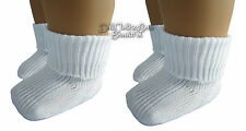 """Basic Ankle Socks 2 Pair  made for 18"""" American Girl Doll Clothes Accessories"""