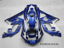 Injection Mold White Blue Body Kit Fairing Fit for 1997-2007 Yamaha YZF 600R x17