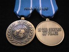 FULL SIZE UNITED NATIONS MIDDLE EAST UN MEDAL WITH RIBBON UNTSO