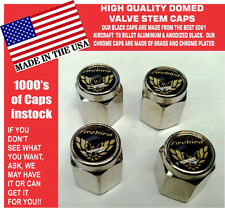 Chrome Pontiac Firebird Trans Am TransAm Gold/Black Valve Stem Cap - The Best
