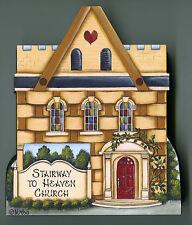Brandywine Collectible Basket Valley: Stairway To Heaven Church Shelf Sitter