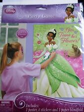 Disney Princess and the Frog Sparkle Party Game-Give Tiana her Flower