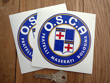 OSCA Maserati Brothers Racing Car Stickers