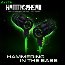 Razer Hammerhead Pro In-Ear PC and Music Headset with mic without retail package