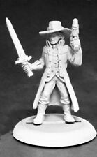 Rippers Witch Hunter Male Reaper Miniatures Savage Worlds Melee Ranged RPG