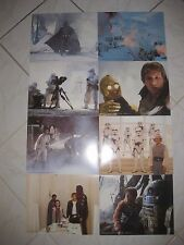 "EMPIRE STRIKES BACK 1980 Original 8x10"" Mini Movie Lobby Card Set Of 8 Star Wars"