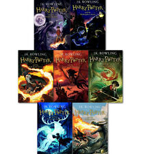 J.K. Rowling Harry Potter Collection 7 Books Children Gift Set Pack the Deathly