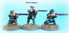 French & INDIAN WAR-British Rangers SPARA PACK x 6