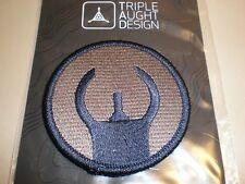 Triple Aught Design HK Rifle Carbine Front Sight TAD Morale Patch Blue Gray Grey