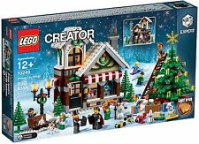 BRAND NEW LEGO #10249 WINTER TOY SHOP, RETIRED AND RARE, MISB