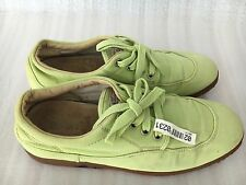Hogan by TODS Easy Donna apple green color Canvas Sneaker size 7.5