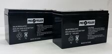 (2) ProPower 12v 8ah for SLA Battery Replaces ep1234w