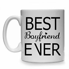 BEST BOYFRIEND EVER MUG CUP GIFT PRESENT VALENTINES DAY BIRTHDAY CHRISTMAS FUNNY