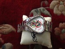 ED HARDY by Christian Audigier GEISHA and Love Watch running