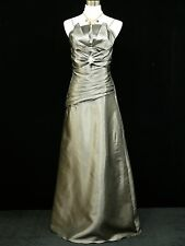 Cherlone Clearance Grey Prom Ballgown Evening/Wedding Bridesmaid Dress uk 14-16