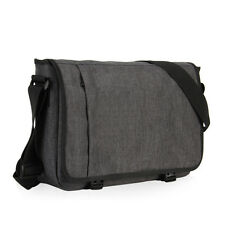 15'' Men's Vintage Messenger Bag Shoulder Laptop Mens Briefcase School Book Bags