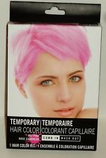 Quick Temporary Hair Color Kit Easy Use Comb It In & Wash It Out Done! HOT PINK