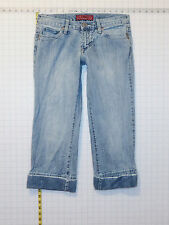 Hotkiss Capris sz 5 / 6 Juniors Womens Blue Jeans Denim Pants C0073