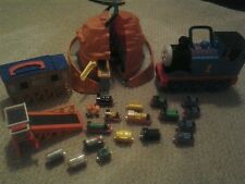Thomas the Train Lot 18x Magnetic Cars Sodor Co. Coal Conveyer & Mine +Case