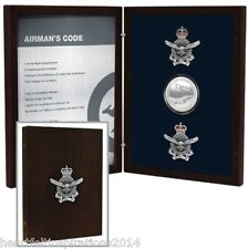 Airmans Code Gift Set In Timber Box - RAAF Collection