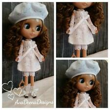 Blythe complete outfit clothes hand knit and sewn