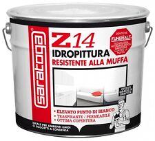 Saratoga Z14 Idropittura antimuffa resistente alla muffa ed alla condensa Lt.10