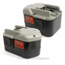 2 x 14.4 VOLT 14.4V Battery for MILWAUKEE 48-11-1014 48-11-1024 NI-MH 3.0AH