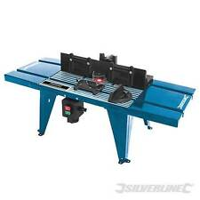 Silverline 460793 DIY Router Table with Protractor 850 x 335mm Routing station