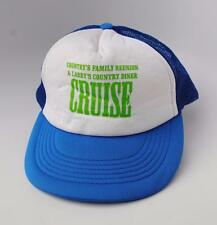 """""""COUNTRY'S FAMILY REUNION & LARRY'S COUNTRY DINER CRUISE"""" OSFA Baseball Cap Hat"""