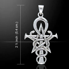 Wizardry Symbol .925 Sterling Silver Pendant by Peter Stone