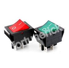 SOKEN Wippenschalter 4-polig beleuchtete 250V/16A Rot und Grün AN/AUS UR 4 Stück