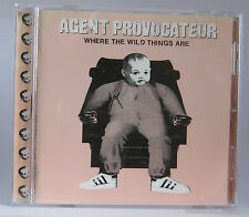 Agent Provocateur - Where The Wild Things Are CD Album 1997 UK