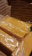 50 pounds unbleached unfiltered local US beeswax one pound bricks