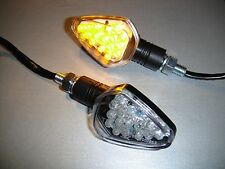 ►4X LED SUZUKI DR650SET,SV650,SV650S,GSX1000 SD SCHWARZ STAR E-MARK MINIBLINKER