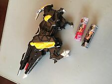 Power Ranger Dino super charge black zord - Rare and hard to find (with charger)